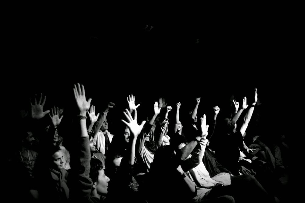Le public vote. © Café-théâtre L'Improvidence